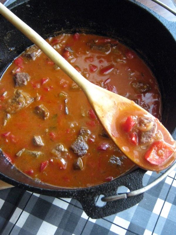 Mancare de vitel cu ardei si ceapa (Vitel cu ardei si ceapa 0)   imagine reteta