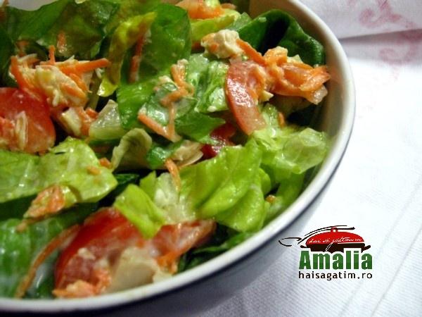 Salata cu piept de pui (Salata cu piept de pui 0)   imagine reteta