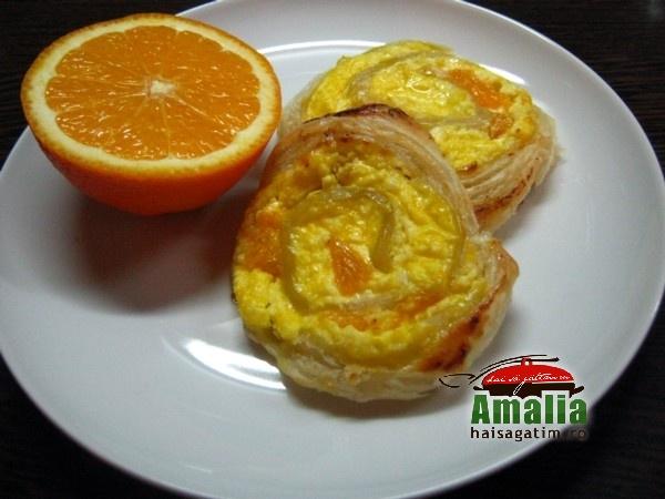 Spirale cu branza dulce si mandarine (Spirale cu branza dulce 0)   imagine reteta