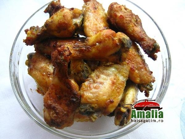 Aripioare picante cu curry (aripioare)   imagine reteta