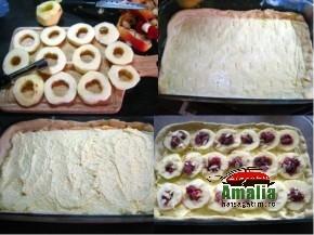 Tarta cu mere, branza dulce si fructe de padure (Tarta cu mere 2 290x217)   imagine reteta