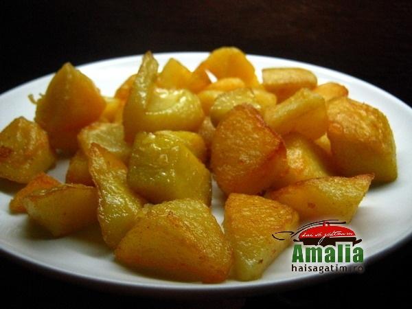 Cartofi aurii la cuptor (Cartofi aurii 01)   imagine reteta