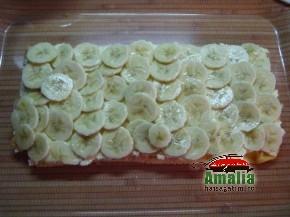 Tort Oaza cu crema de vanilie si fructe exotice (Asamblare tort 3 resize 290x217)   imagine reteta