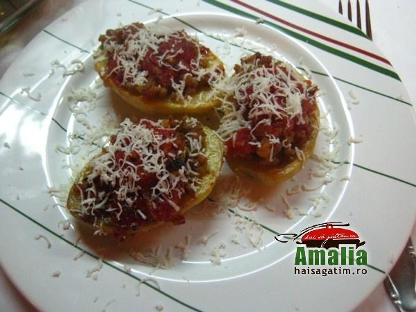 Cartofi umpluti cu carne tocata (Cartofi umpluti cu carne 0)   imagine reteta
