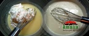 Tort cu mousse de zmeura si ciocolata (Tort cu mosse de zmeura 3 290x120)   imagine reteta