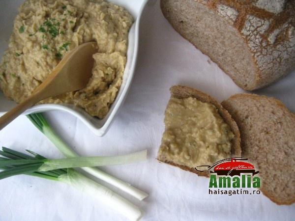 Crema de fasole cu usturoi  (Salata de fasole 01)   imagine reteta