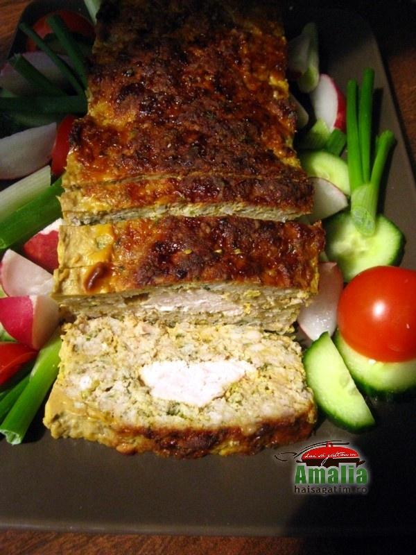 Rulada de carne cu piept de pui (Rulada cu carne 0)   imagine reteta