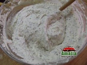 Tort cu zmeura si branza de vaci (Crema 4 290x217)   imagine reteta