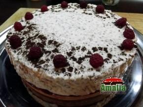 Tort cu zmeura si branza de vaci (Tort 6 290x217)   imagine reteta