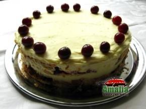 Tort cu visine sau cirese (Tort cu visine 03 290x217)   imagine reteta