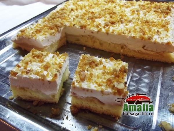 Prajitura cu mere si branza de vaci (prajitura cu mere 4)   imagine reteta