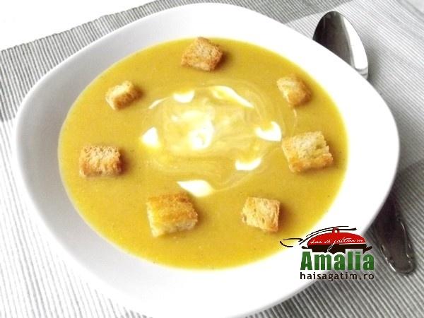 Supa crema de conopida si dovleac (Supac crema de conopida 0)   imagine reteta