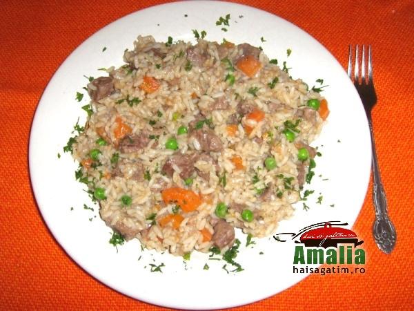 Mancare de vita cu orez la cuptor (IMG 0501 058)   imagine reteta