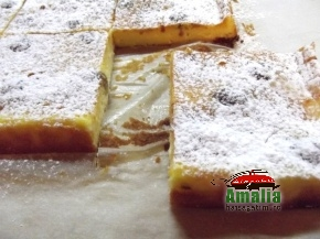 Cheesecake taiat