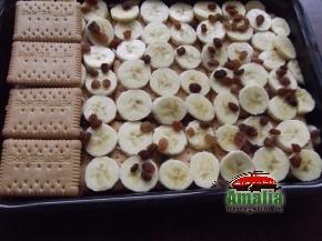 Prajitura cu mere si biscuiti 5
