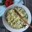 Salata de oua, branza si leurda