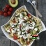 Salată de paste cu castraveți și roșii