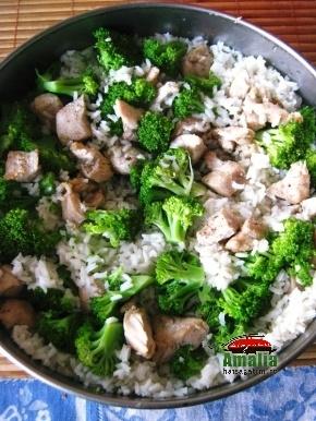 Pui cu broccoli 6