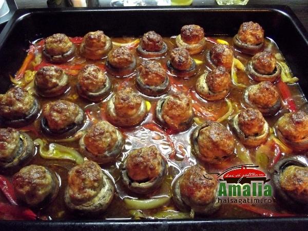 Chiftele cu ciuperci si ardei 4