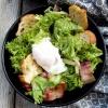 Salata cu bacon si crutoane 1